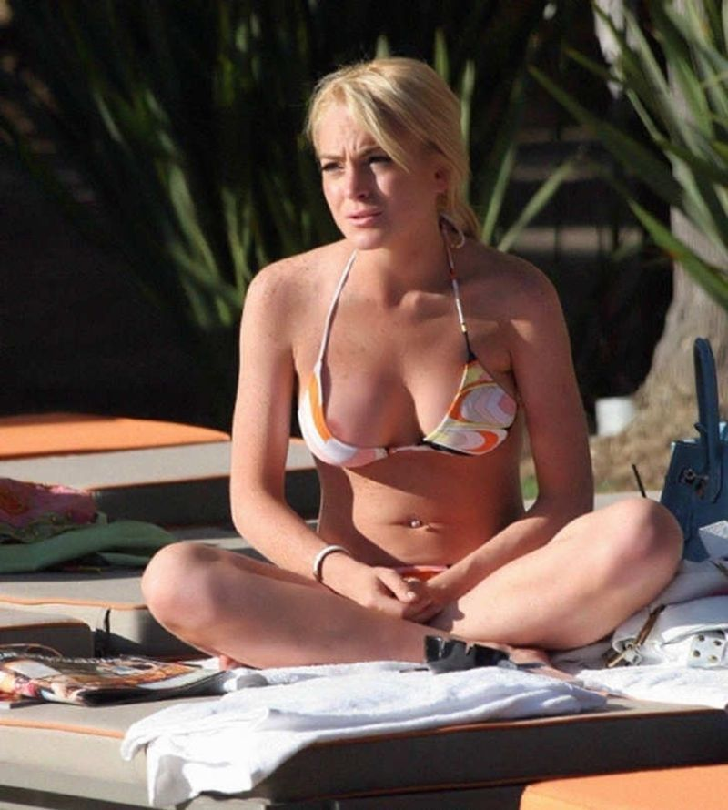 from Cade lindsay lohan accidental nude