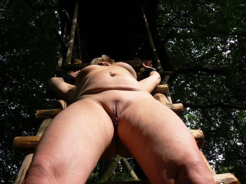Im Wald Gefesselt