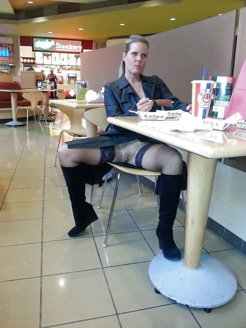 milf in public